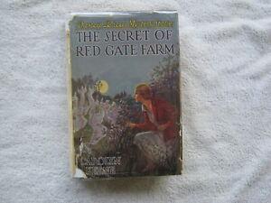 NANCY DREW MYSTERY STORIES- THE SECRET OF RED GATE FARM - EARLY PRINTING W/DJ