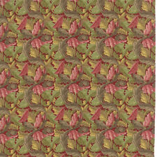 William Morris 2017 Floral Acanthus 1875 Red V&A Reproduction Moda Quilt Cotton