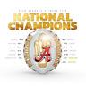 2020 Alabama Crimson Tide NCAA Football Championship Ring