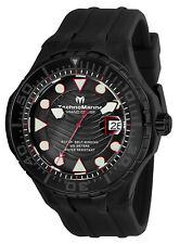 Technomarine TM-118083 NEW 2019 Grand Cruise Blue Reef All Black AUTOMATIC Watch