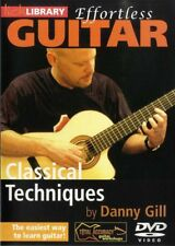 Lick Library EFFORTLESS CLASSICAL GUITAR TECHNIQUES Video DVD Lesson Danny Gill