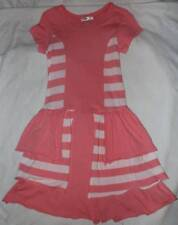 Boutique Joah Love Candy Pink Knit Bustle Dress 12 Yrs.