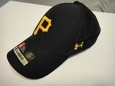 Under Armour Mens Threadborne Pittsburgh Pirates Classic Fit Hat Size Adjustable
