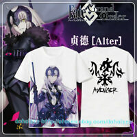Short Sleeve Tops Shirts Anime Fate/Grand Order Alter Casual Unisex T-shirt #M30