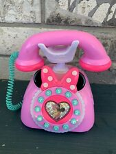 New listing Disney Minnie Mouse Phone Happy Helpers Talking Toy Pink
