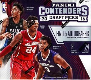 2016-17 Panini Contenders Basketball - Season Ticket - Pick A Player