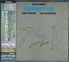 "Keith Jarrett Trio ""Standards Live"" Japan SACD w/OBI NEW/SEALED Tower Records"