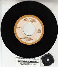 """BING CROSBY Who Threw The Overalls In Mrs. Murphy's Chowder 7"""" 45 rpm record NEW"""