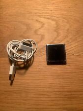 Apple Mc689Ll iPod Nano 6th Generation Blue 8Gb Mp3 Player A1366 Tested & Works!