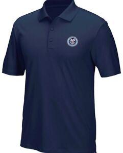 "New York City FC Adidas MLS Men's ""Performance"" Climacool Polo Shirt"