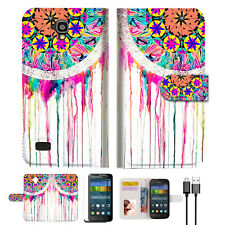 Dream Catcher Wallet Case Cover For HUAWEI Y5 Y560-- A015