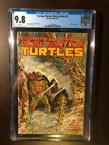 Teenage Mutant Ninja Turtles #37 CGC 9.8 WP NM/MINT Mirage