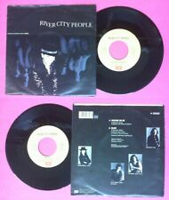 "LP 45 7"" RIVER CITY PEOPLE Walking on ice Black 1989 italy EMI 2037267 no cd mc"