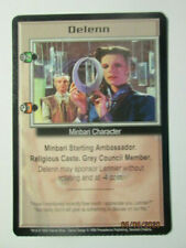 1999 Babylon 5 Ccg - Severed Dreams - Rare Card - Delenn ( Lennier )