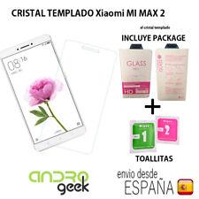 Cristal templado protector pantalla para Xiaomi Mi Max 2 CON package.Ordinario