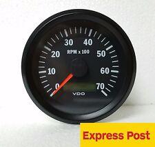 VDO COCKPIT VISION TACHOURMETER 12V & 24V 85mm  7000 RPM AUTOMOTIVE 333015035