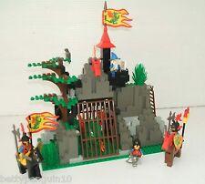 LEGO 6076 Castle DARK Dragons Den-DRAGON KNIGHTS - 4 minifigs-Set Completo
