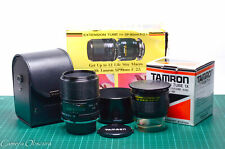 Tamron SP 90mm f/2.5 Adaptall 2 Macro Lens 52BB /w Extension Tube & Nikon Mount