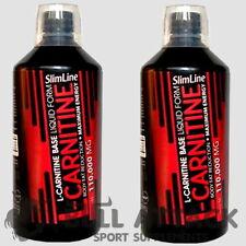 2000ml =2L L-Carnitin Liquid 110.000mg Stärkstes Carnitine Diät Fettverbrennung