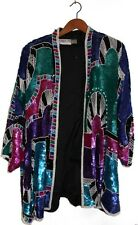 DESIGNER: JUDITH ANN PLUS JACKET 100% SILK