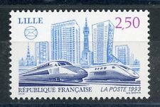 STAMP / TIMBRE FRANCE NEUF N° 2811 **  TRAIN /  LILLE TGV NORD