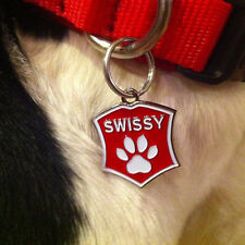 SWISSY dog tag. Greater Swiss Mountain Dog tag for collars and keychains.