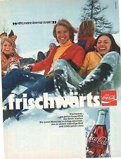 Storica pubblicità con loghi pagine pubblicitarie-COCA COLA-COKE-la raccolta vecchia inviti