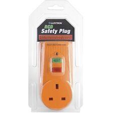 Lloytron rcd sécurité plug adaptateur socket power disjoncteur plug commutateur rapide