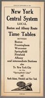 [30644] 1944 NEW YORK CENTRAL SYSTEM BOSTON & ALBANY ROUTE TIMETABLE