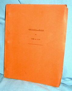JAMES M. CAIN Pre-Pub Mss. Ed NEVADA MOON aka JEALOUS WOMAN  +1st Ed pb original