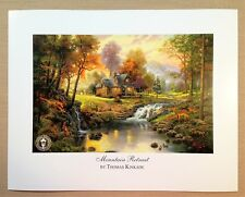 "Thomas Kinkade Open Edition print ""Mountain Retreat"""