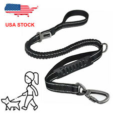 Retractable Nylon Puppy Rope Dog Leash Tactical for Large dog Heavy Duty Coupler