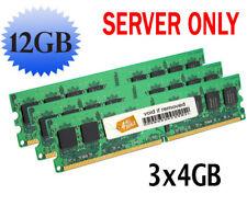 12GB (3x4GB) RAM Memory for HP/Compaq ProLiant ML150 G6 ECC REGISTERED PC1333