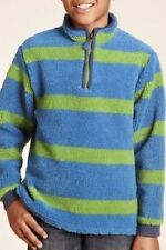 Boys' Striped Zip Neck Other T-Shirts & Tops (2-16 Years)