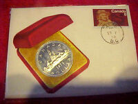 1972 #LE-31 99 COMPANY FIRST DAY FIRST ISSUE CANADIAN SILVER DOLLAR COIN 963 ISS