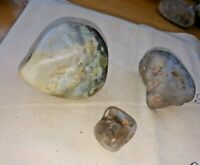 raw rough beautiful variety blue and fire opal snake river gemstones lot