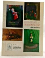 1978 Holiday / Christmas Tole & Decorative Painting Pattern Book 13 Designs 7556