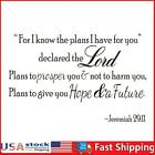 Pvc Self-adhesive Removable Bible Wall Sticker Diy Decals Home Decoration