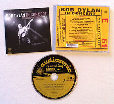 BOB DYLAN - IN CONCERT BRANDEIS UNIVERSITY 1963 / CD ALBUM (ANNEE 2010)
