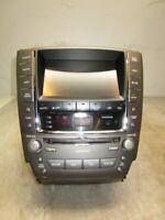 12 2012 Lexus IS250 Radio CD Player w/ Navigation Display Screen OEM