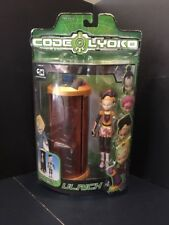 B4) Marvel Toys Code Lyoko Ulrich with Transforming Chamber Action Figure NIP