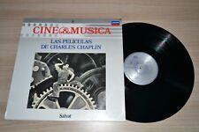 CINE & MUSICA LAS PELICULAS DE CHARLES CHAPLIN VINILO LP VINYL 1987