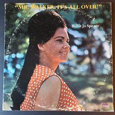 Billie Jo Spears ~ Mr. Walker, It's All Over ~ FAST SHIPPING!