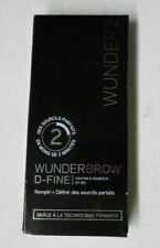 WUNDER 2 D FINE BROW LINER & GEL BLONDE PERMAFIX TECHNOLOGY uns nib no brush