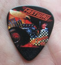 Fastway (British 1980s Heavy Metal Band) Collectors Guitar Pick 'All Fired Up!'