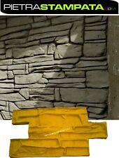Stempel Putz bedruckt Falsch pietra Wand bedruckt vertical Beton Schimmel