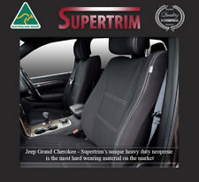 Front Seat Covers Fit Jeep Grand Cherokee 2011 Now Premium Neoprene Waterproof
