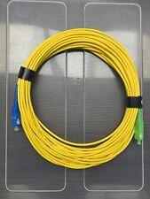 Jarretière optique pour FreeBox 10m SC/UPC-SC/APC gaine 3 mm OFNR