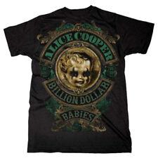 Alice Cooper Billion Dollar Babies Rock Official Tee T-Shirt Mens Unisex