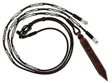 Show Ring Romel Reins - Dark Oil - Sterling Silver Plated - 28 oz